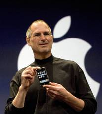 Jobs unveils iphone