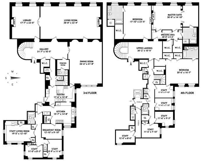 Floor Plan Porn 834 Fifth Avenue Variety