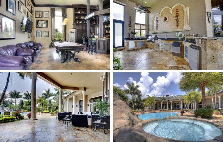 See inside Rick Ross' newly purchased Florida mansion which he bought from ex-NBA star Amar'e Stoudemire for $3.5 Million (photos)    PEAKVIBEZ