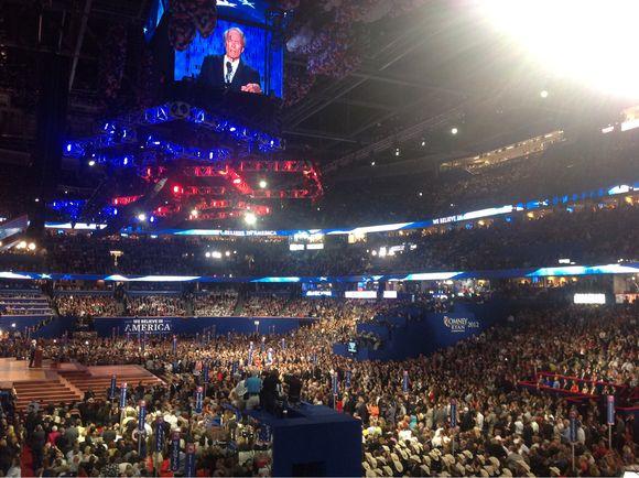 Eastwood's Bizarre Convention Speech