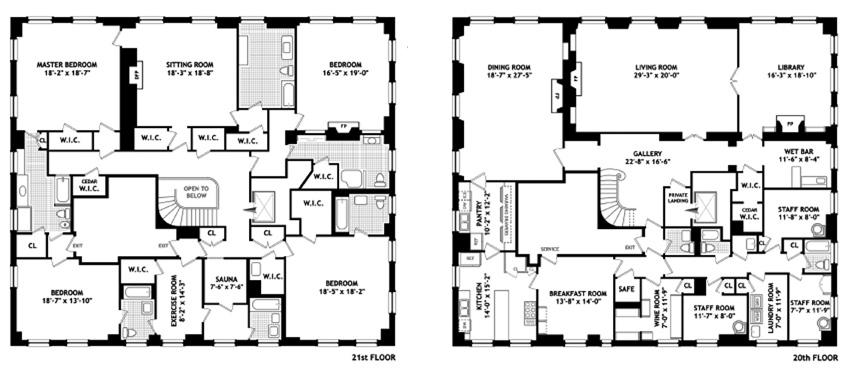 Floor Plan Porn River House Duplex Variety