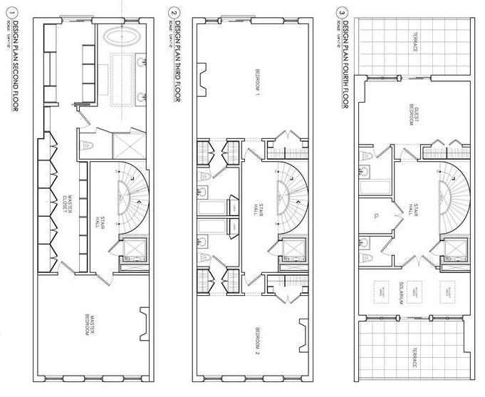 Shoe Mogul Steve Madden Lists Townhouse, Steve Madden House Plans