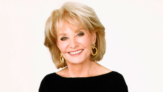 Barbara Walters Sign Off 'The View,'