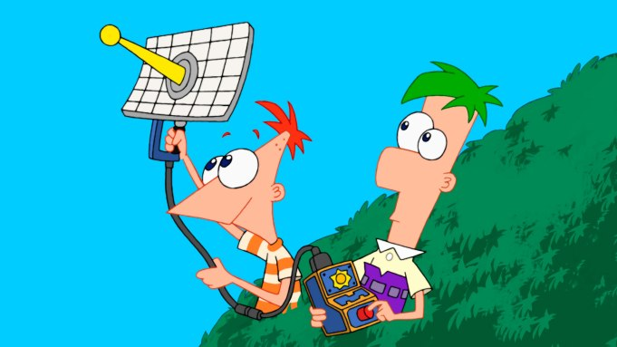 Marvel Ready Crossover with 'Phineas and