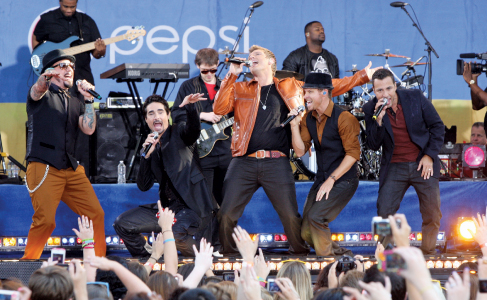 Backstreet Boys Star Walk of Fame
