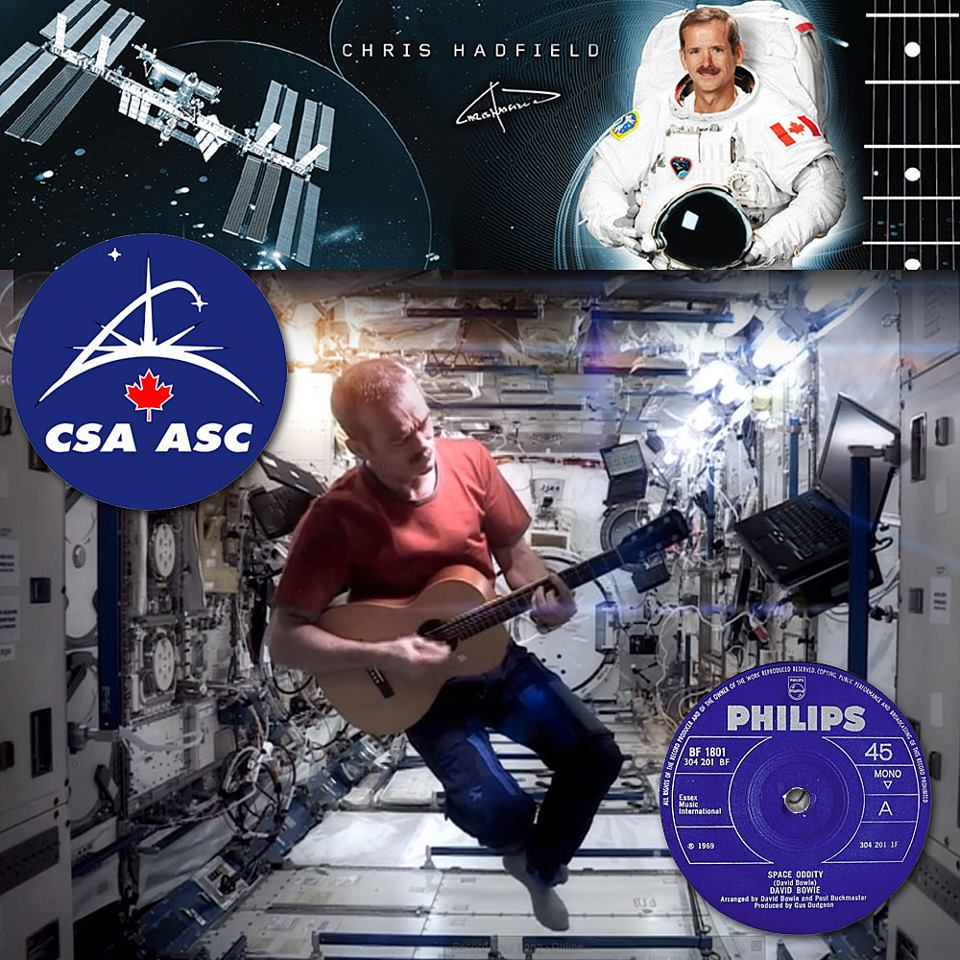 First Music Video From Space? Astronaut Chris Hadfield Sings 'Space Oddity' - Variety
