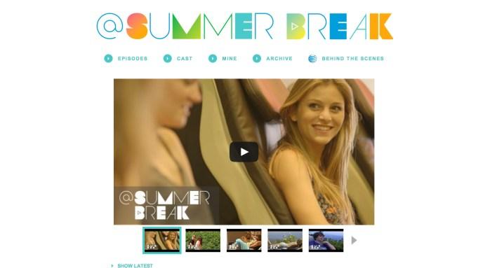 @Summerbreak Advertising: AT&T Sponsors Mobile Series