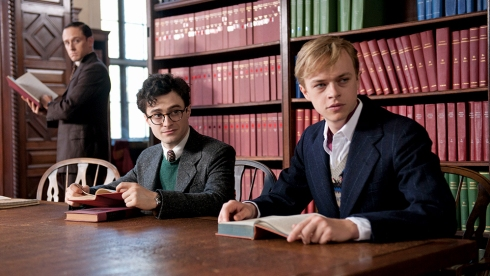 <p>Daniel Radcliffe, Ben Foster and Jack Huston portray Beat writers Allen Ginsberg, William Burroughs and Jack Kerouac, and Dane DeHaan plays Lucien Carr.</p>