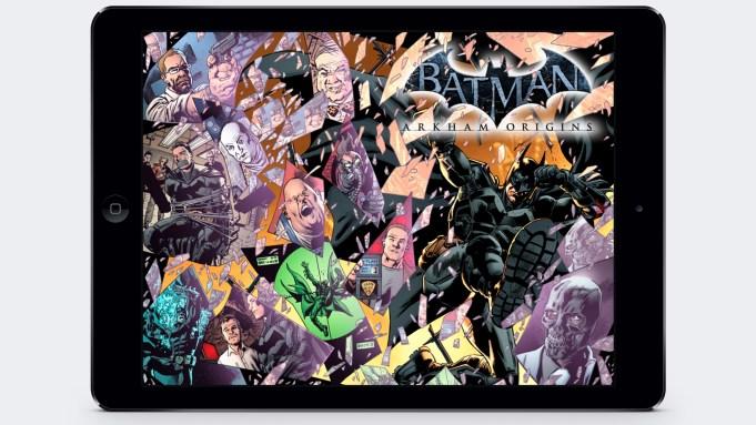 Madefire has turned Batman: Arkham Origins