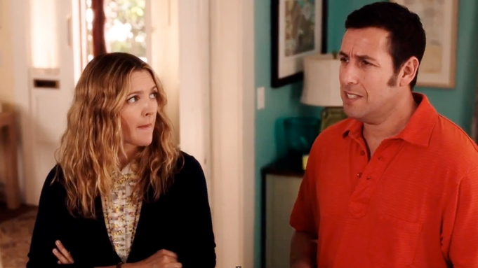 Blended Adam Sandler-Drew Barrymore 22 Actors Who Played Couples Multiple Times
