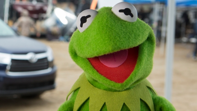 The Muppets hitch a ride to
