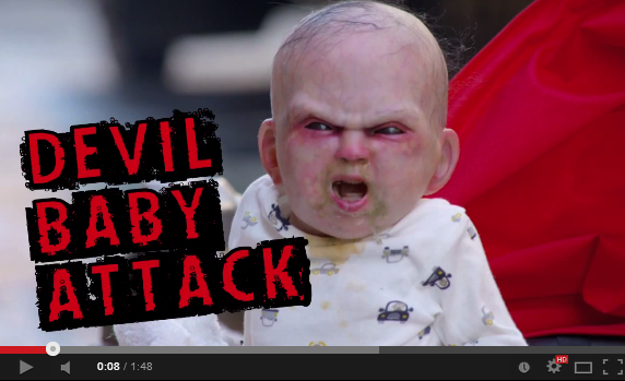 Devil's Due stunt sends evil baby