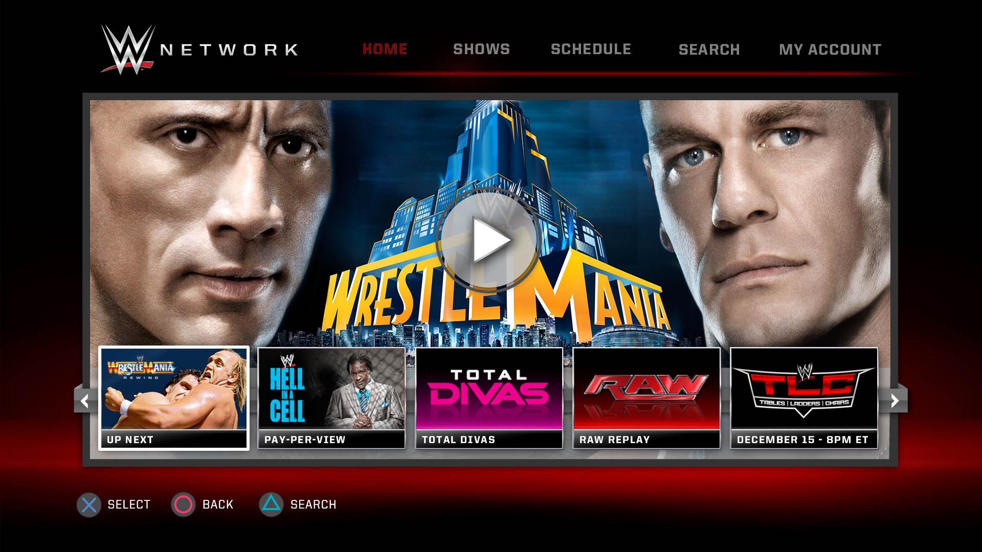 Network logout wwe Watch WWE