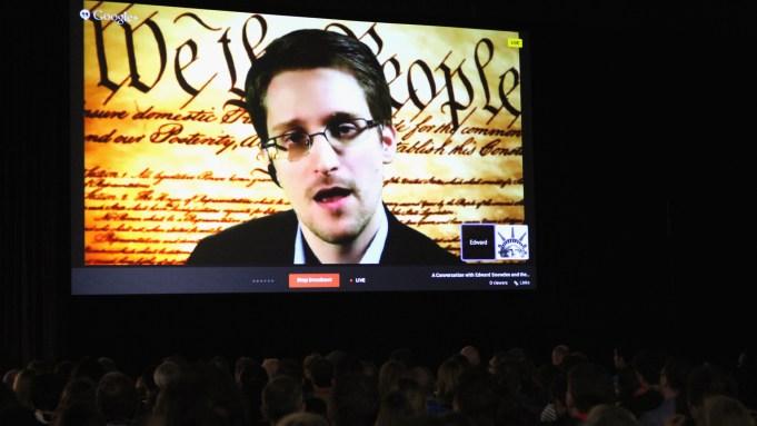 Edward Snowden Speaks SXSW