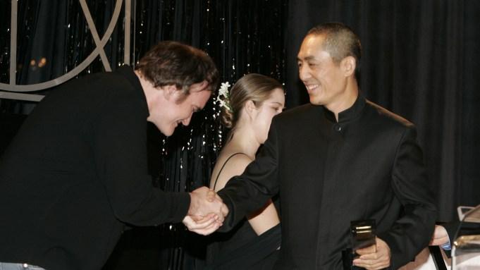 Zhang Yimou and Quentin Tarantino