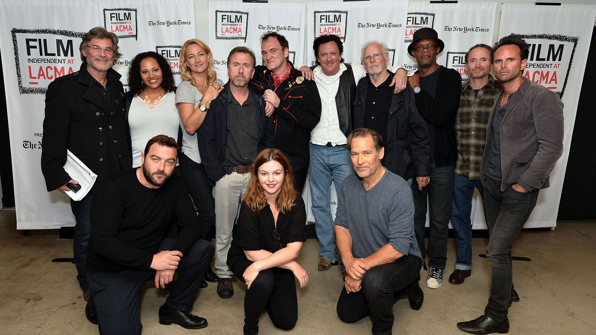 Quentin Tarantino's The Hateful Eight staged reading