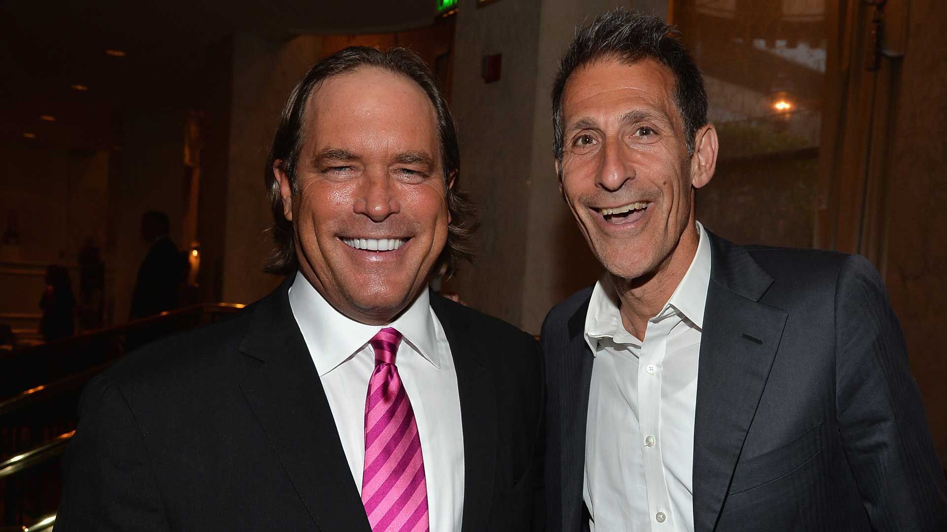 Steve Mosko and Michael Lynton at the Taste for a Cure benefit