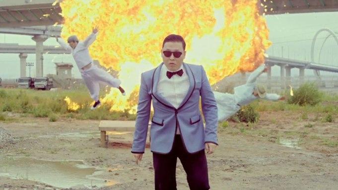 Gangnam Style YouTube record