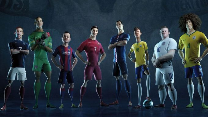"Nike Football's animated ""The Last Game"""