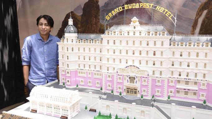 Ryan Ziegelbauer unveils a Lego model