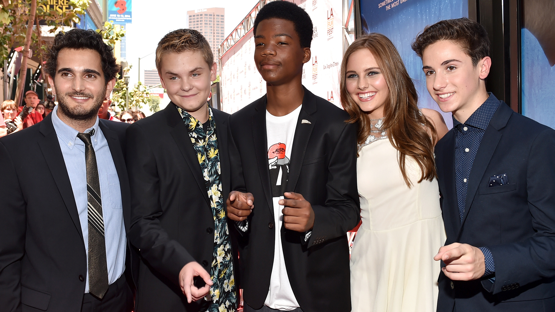 Earth To Echo Cast Talk World Cup Social Media E T Comparisons Variety