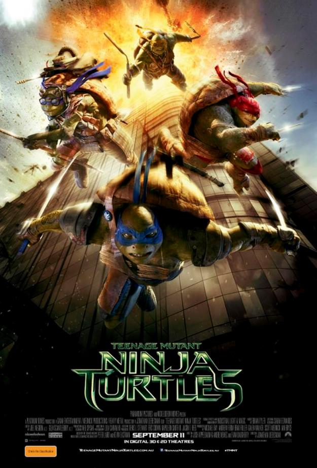 'Teenage Mutant Ninja Turtles' Poster