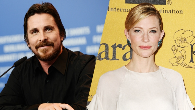 Christian Bale and Cate Blanchet Jungle