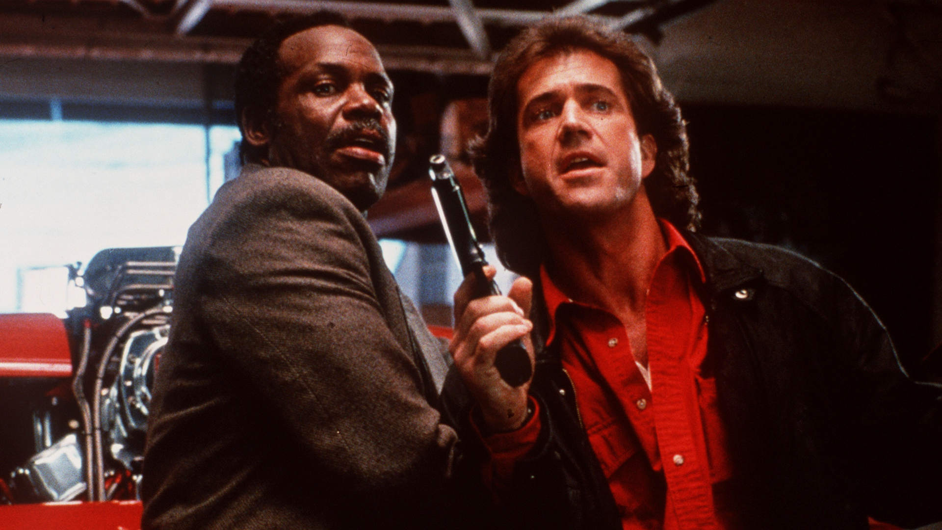 Danny Glover and Mel Gibson in Lethal Weapon 3