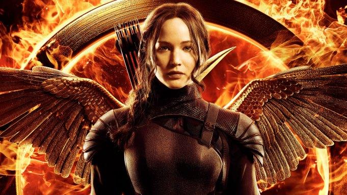 Mockingjay Jennifer Lawrence Katiss poster