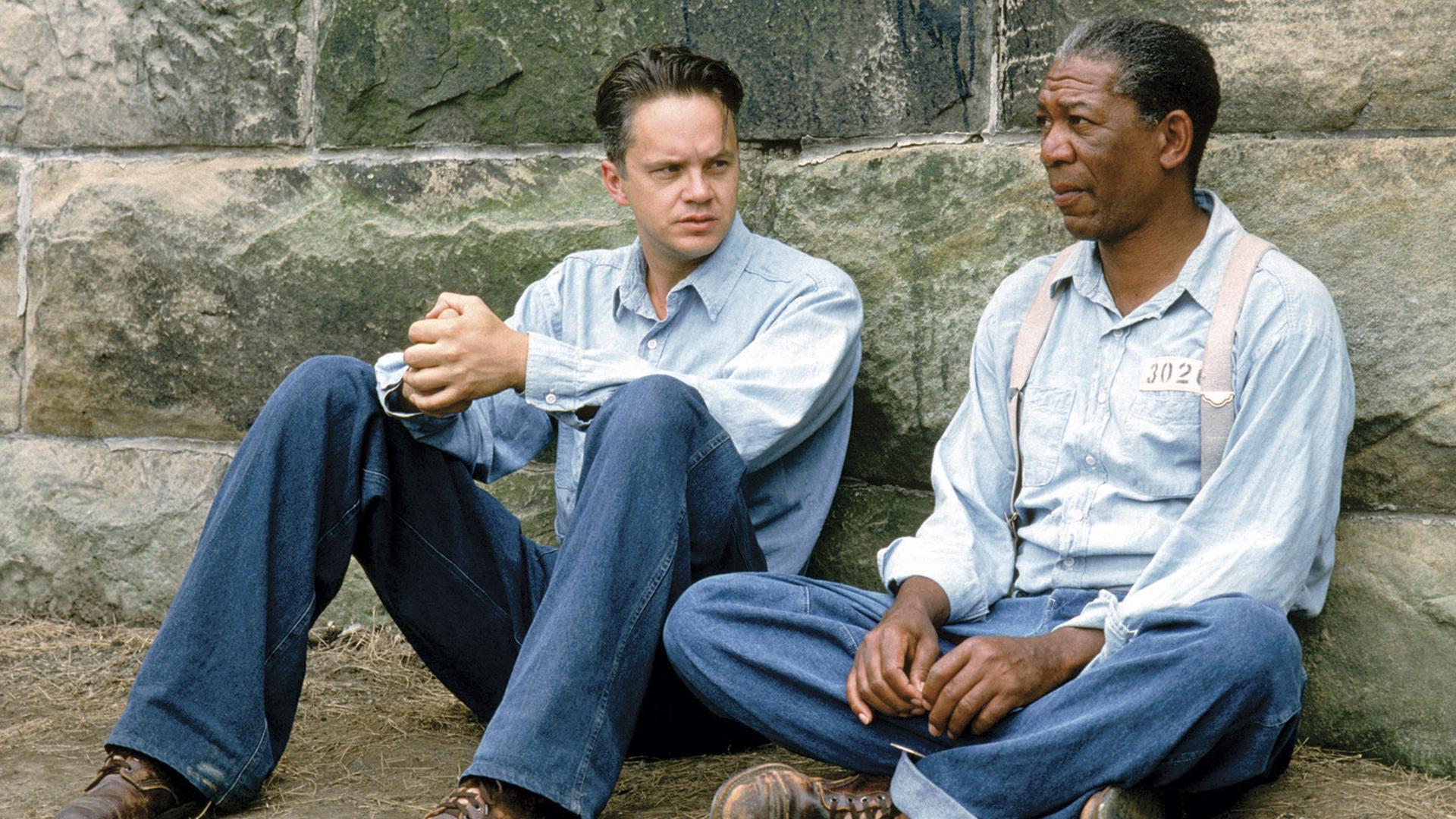 The Shawshank Redemption 20th anniversary Tim Robbins Morgan Freeman