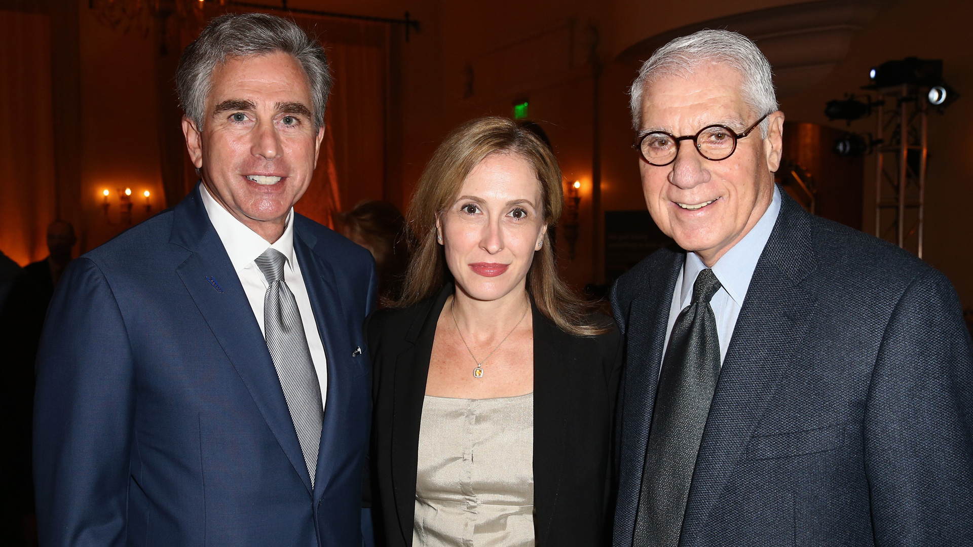Russell Goldsmith, Michelle Sobrino-Stearns and George Savitsky