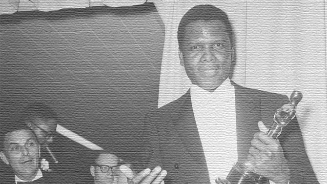 Sidney Poitier First Black Ever Receive