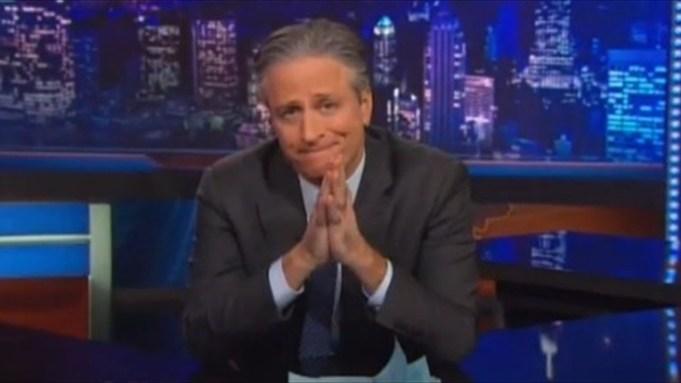 Jon Stewart Skewers Media Hypocrisy In