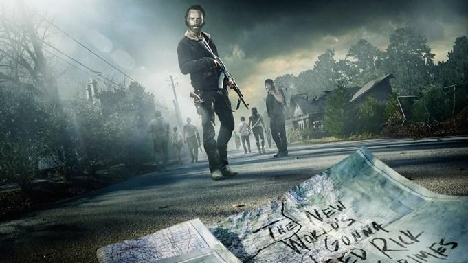 Walking Dead Season 5 Art