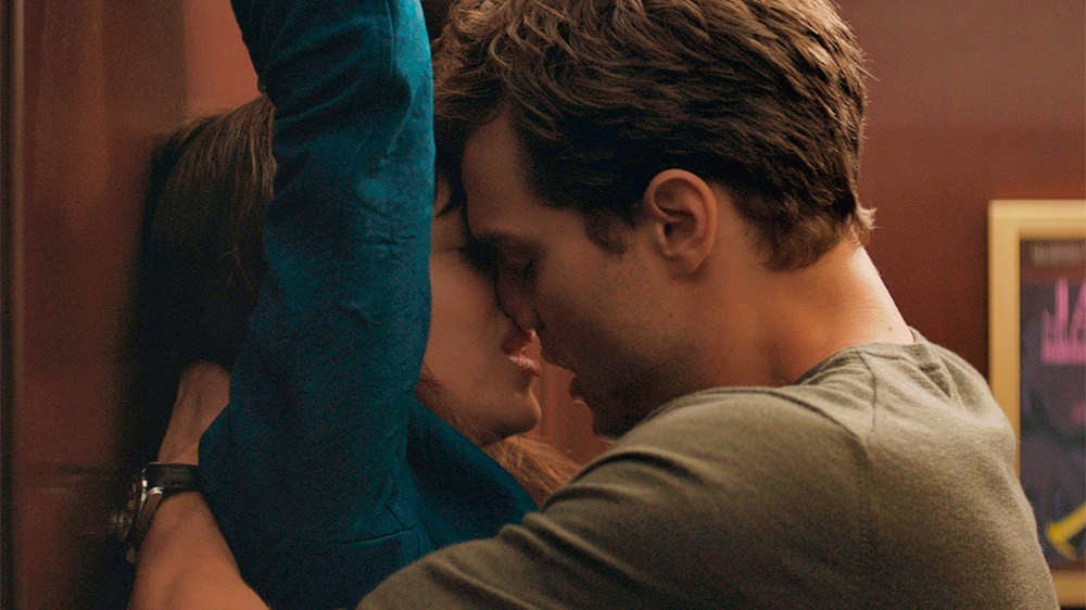 Hot couple making love office Box Office Fifty Shades Of Grey Plummets Hot Tub Time Machine 2 Flops Variety
