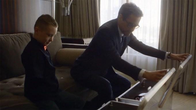 Robert Downey Jr. Gifts Bionic 'Iron