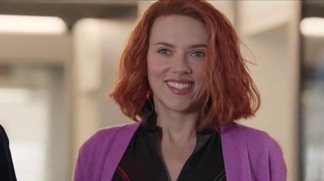 SNL Black Widow Movie Scarlett Johansson