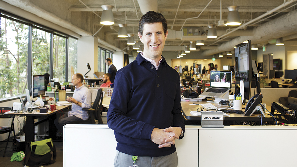 Inside the Office of Hulu's Craig Erwich