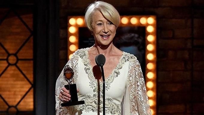 Helen Mirren Tony Award Highlight