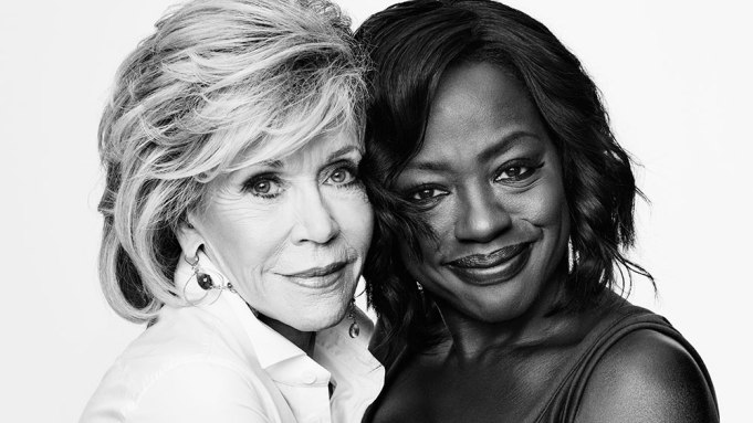 Jane Fonda Violas Davis