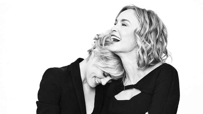 Jessica Lange and Taylor Schilling in