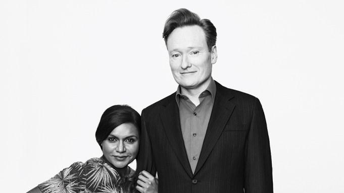 Mindy Kaling & Conan O'Brien
