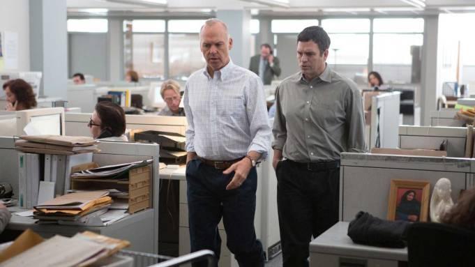 Spotlight Michael Keaton Mark Ruffalo