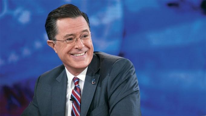 Stephen Colbert Emmy Variety Race