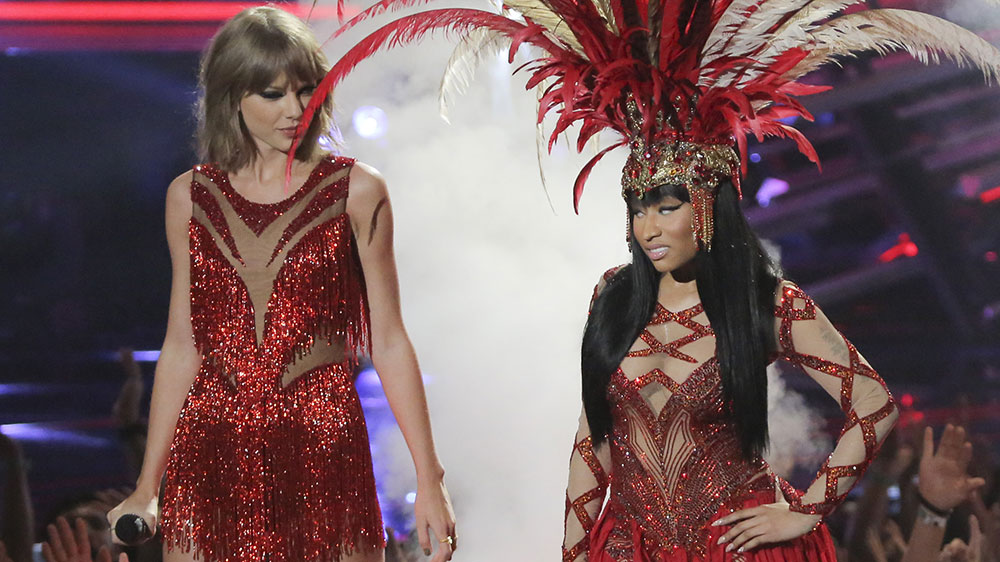 Taylor Swift and Nicki Minaj End Their VMAs Argument in