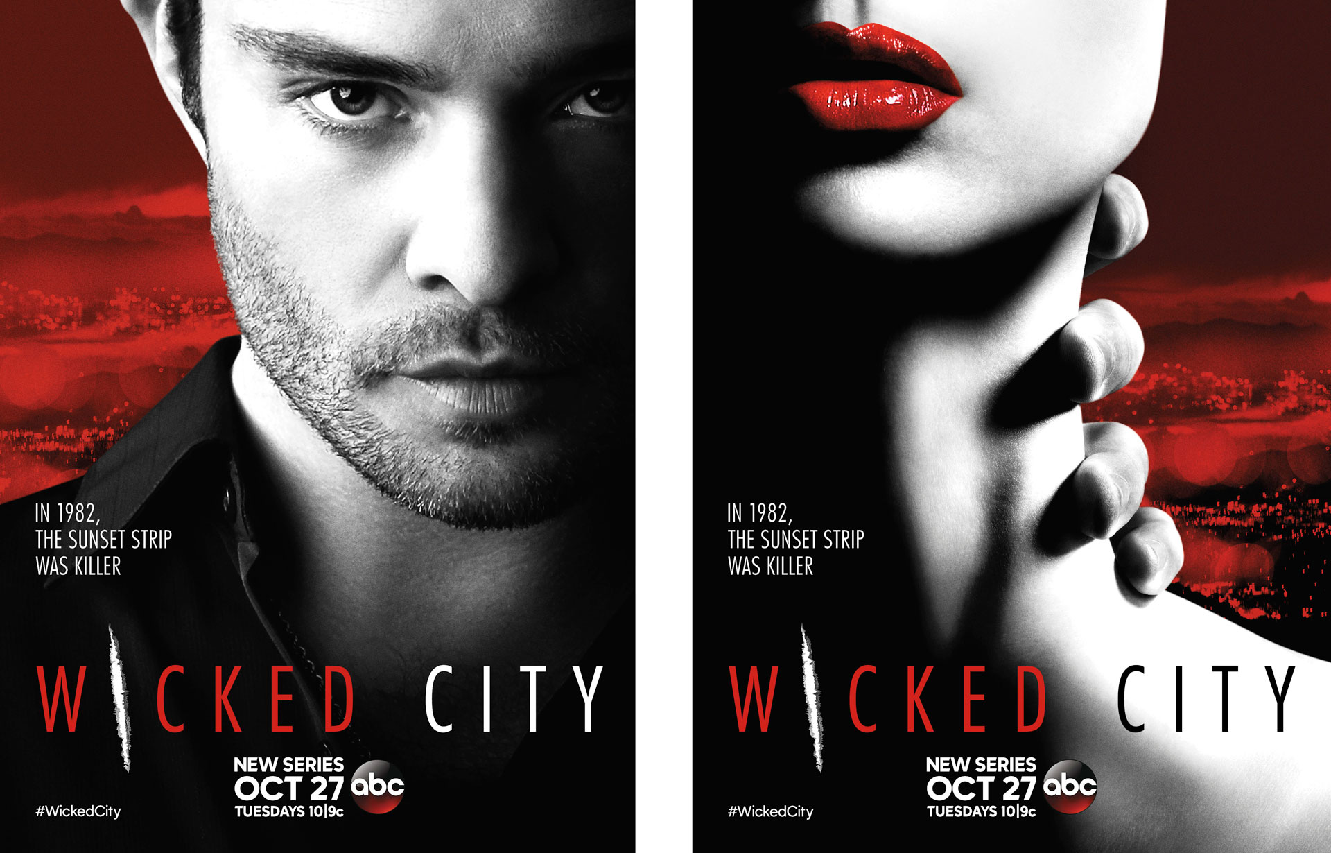 wicked city ed westwick posters