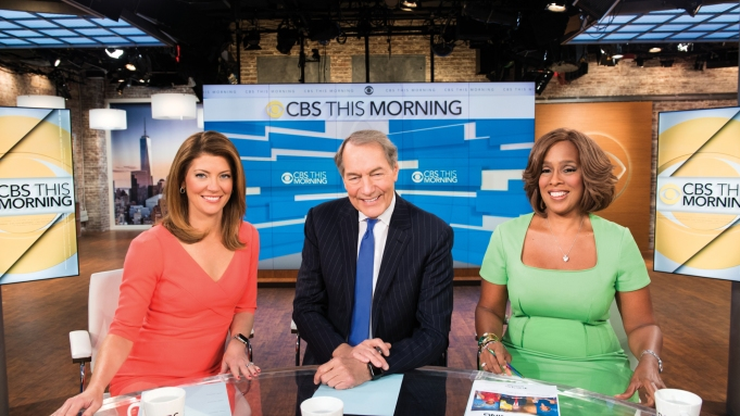 Cbs This Morning Gains Ground In Tv S Morning News Wars Variety