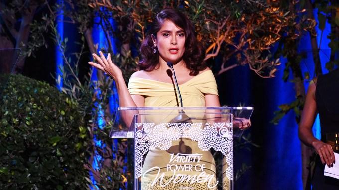 Salma Hayek Blasts Hollywood Sexism