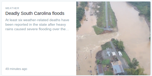 Twitter Moments, as displayed on Twitter's website.