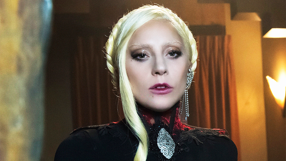 Breakout female television star of 2015 - Lady Gaga as The